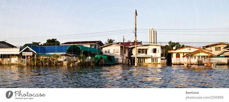bangkok flood Haus Wohnung Fluss Asien Desaster Thailand Problematik Flut Hochwasser Bangkok fluten Reihenhaus Naturkatastrophe 2011
