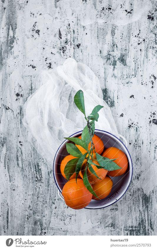 grün Lebensmittel Textfreiraum orange oben Frucht Ernährung frisch Orange lecker Getränk trinken Frühstück Bioprodukte Diät Vegetarische Ernährung