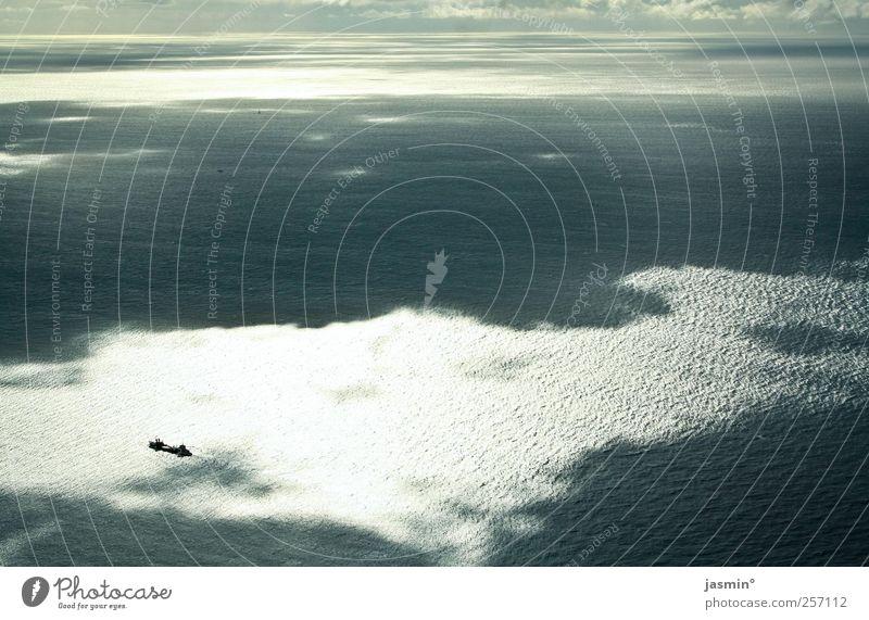 Wolkenaufbruch Himmel Natur Wasser Meer Umwelt Landschaft außergewöhnlich Schönes Wetter