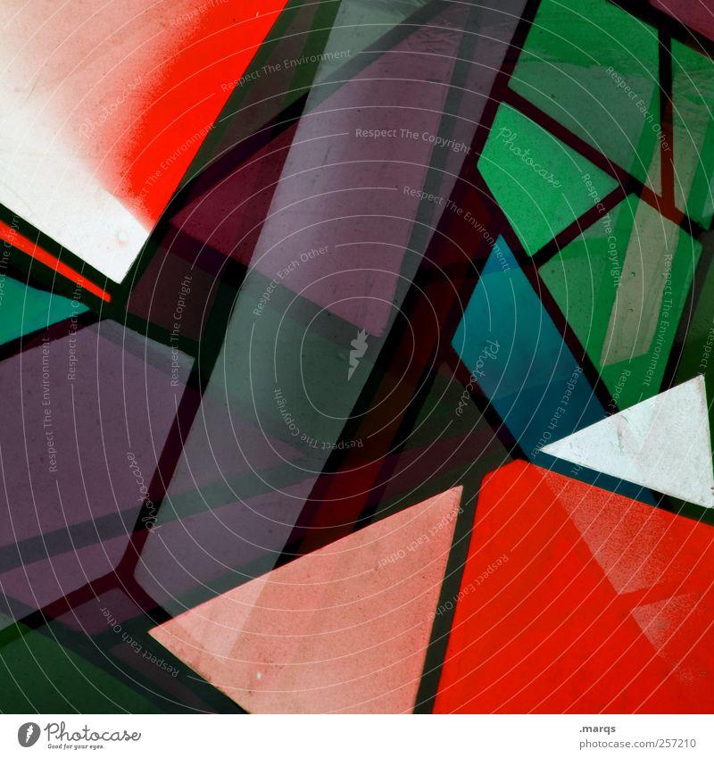 XMAS Edition Farbe Stil Glas Design außergewöhnlich Perspektive Lifestyle einzigartig chaotisch Doppelbelichtung trendy Mosaik Kirchenfenster