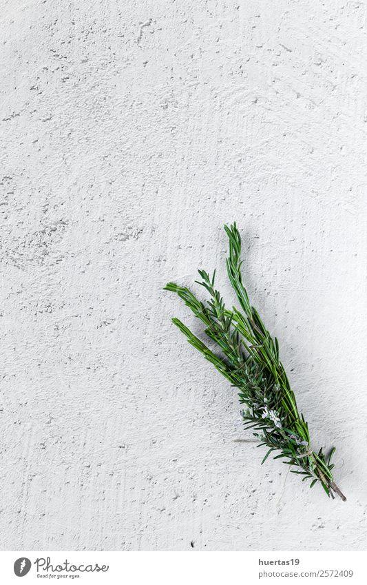 Aromatische Kräuter. Flache Verlegung. Lebensmittel Gemüse Kräuter & Gewürze Garten Kunst Pflanze frisch lecker natürlich oben sauer grün Küchenkräuter