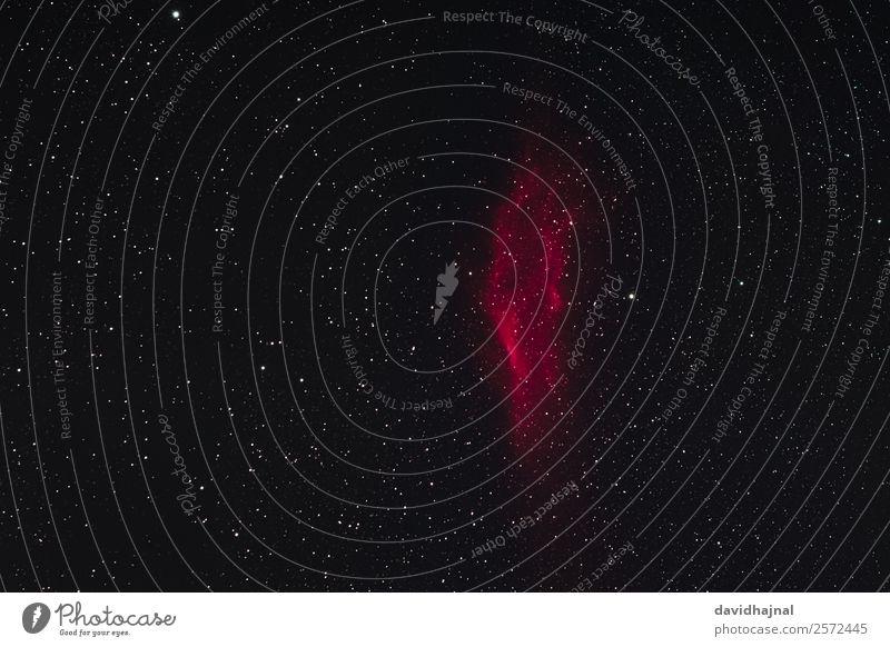 Kalifornien-Nebel Technik & Technologie Wissenschaften Fortschritt Zukunft Astronomie Weltall Umwelt Natur Himmel nur Himmel Wolkenloser Himmel Nachthimmel
