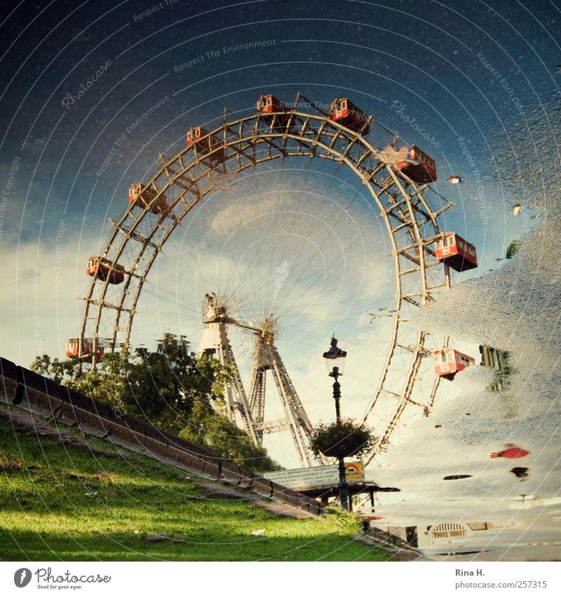 Reflektionen Lifestyle Freude Ferien & Urlaub & Reisen Tourismus Sightseeing Städtereise Wien Öster Österreich Sehenswürdigkeit Wahrzeichen Erholung Bekanntheit