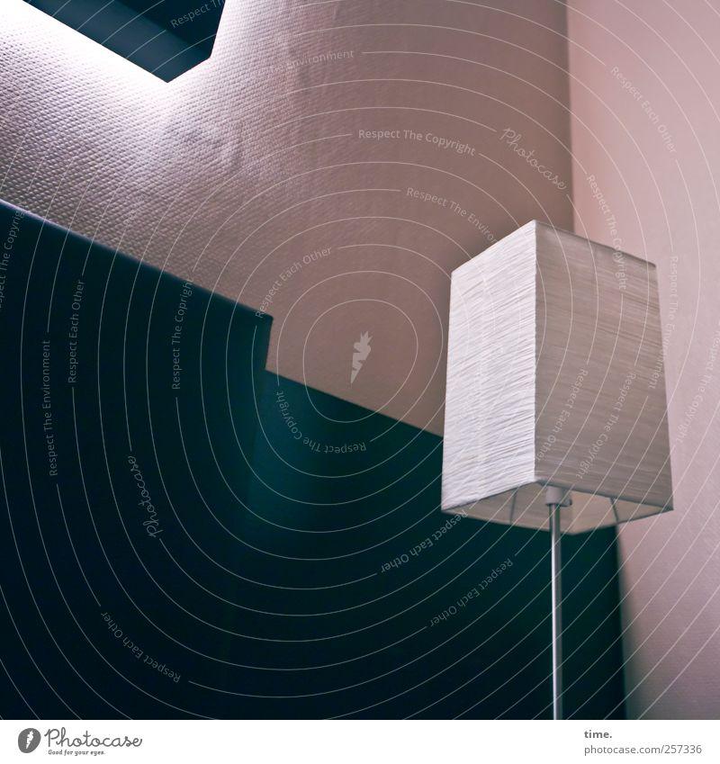 Lightboxes Innenarchitektur Lampe Raum ästhetisch elegant komplex Wand Wanddekoration rosa grün Indirektes Licht Zimmerecke leuchten Papierschirmchen