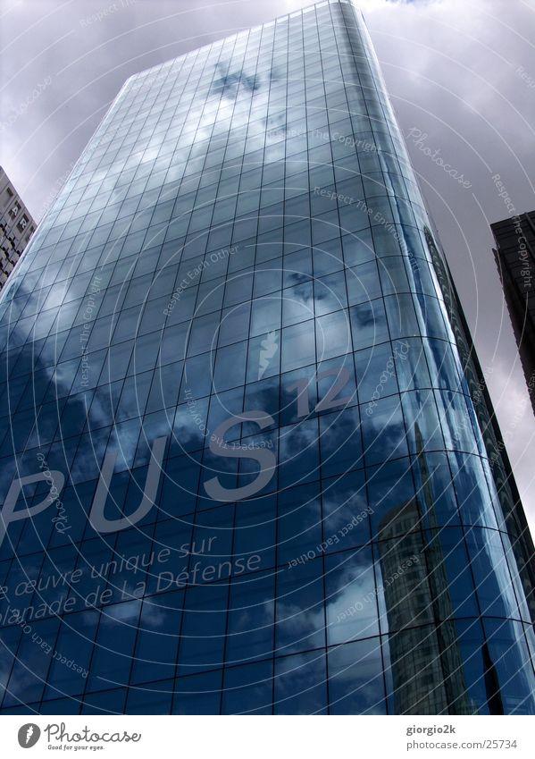 Paris Himmel Stadt Wolken Gebäude Architektur Glas Hochhaus Frankreich