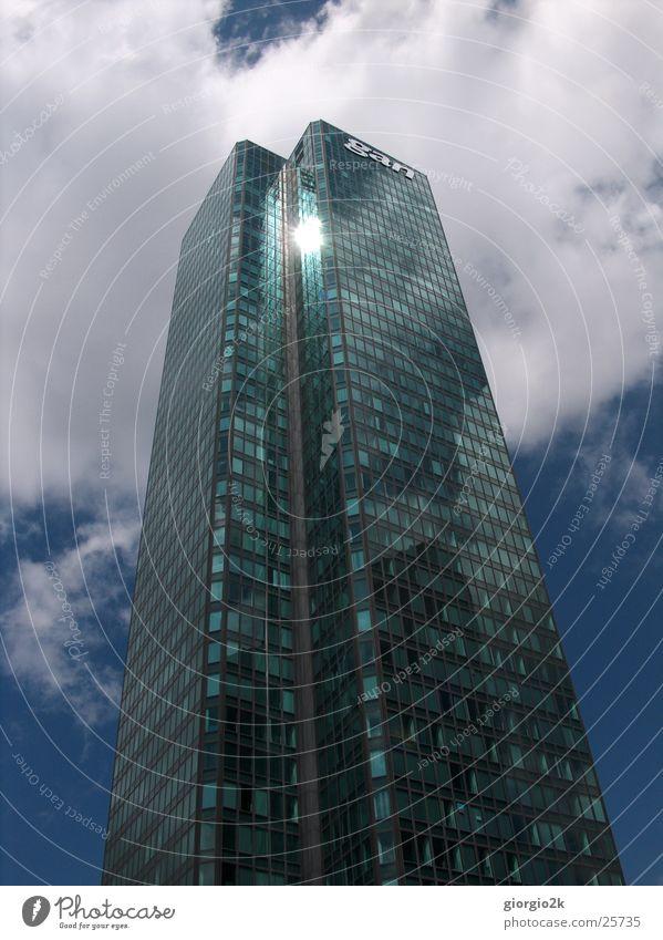 Paris II Frankreich Hochhaus Stadt Architektur French France Glas blau Himmel Reflektion Reflexion & Spiegelung Sonne