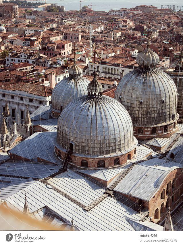 Markusdom XXL. Kunst ästhetisch Dach Kirche Venedig Veneto San Marco Basilica Turm Ferne Aussicht Italien Ferien & Urlaub & Reisen Urlaubsort Städtereise