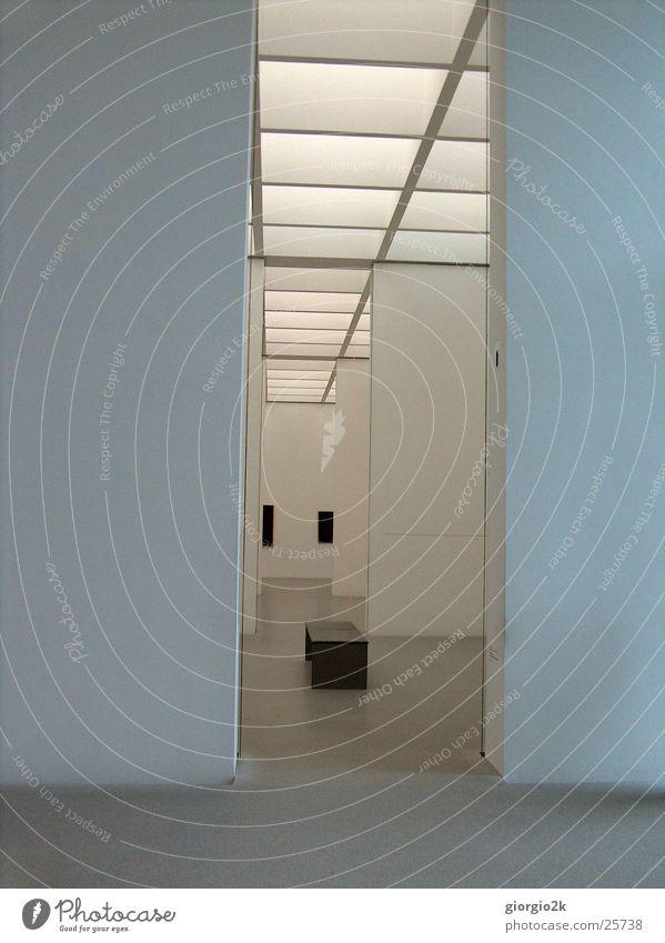 Pinakothek weiß Wand Stil Raum Kunst Architektur München Ausstellung