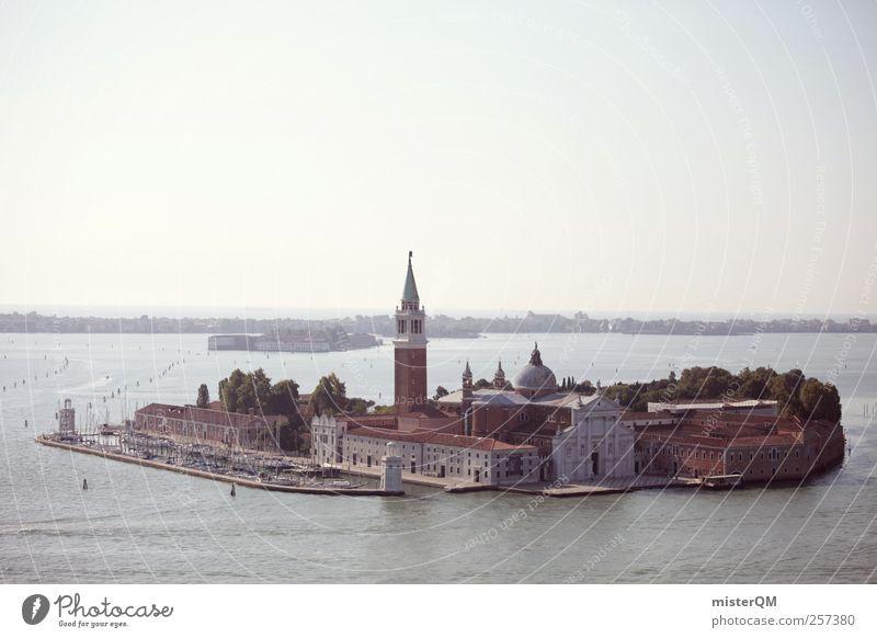 Eine Insel. Stadt Ferien & Urlaub & Reisen Architektur Kunst Turm Reisefotografie Italien Reichtum Sehenswürdigkeit reich Venedig Hafenstadt Städtereise Veneto