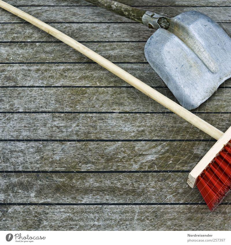 Böllerentsorgung Holz Linie Arbeit & Erwerbstätigkeit dreckig Bodenbelag Streifen Reinigen Sauberkeit Beruf Dienstleistungsgewerbe Werkzeug Ruhestand anstrengen
