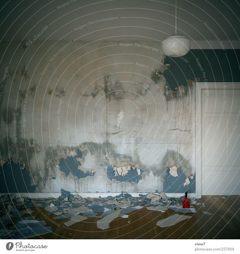 Renovierung alt Ferne kalt Wand Mauer Arbeit & Erwerbstätigkeit Raum Wohnung Innenarchitektur authentisch planen Perspektive Häusliches Leben Umzug (Wohnungswechsel) Tapete machen