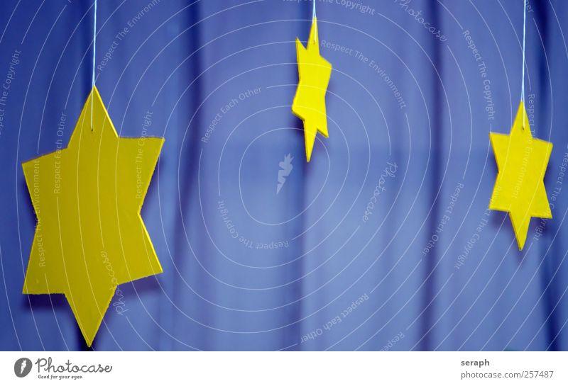 Sterne Stern (Symbol) Strukturen & Formen wood gelb Oberfläche Produkt Material Grundriss Grafik u. Illustration striking Weihnachten & Advent