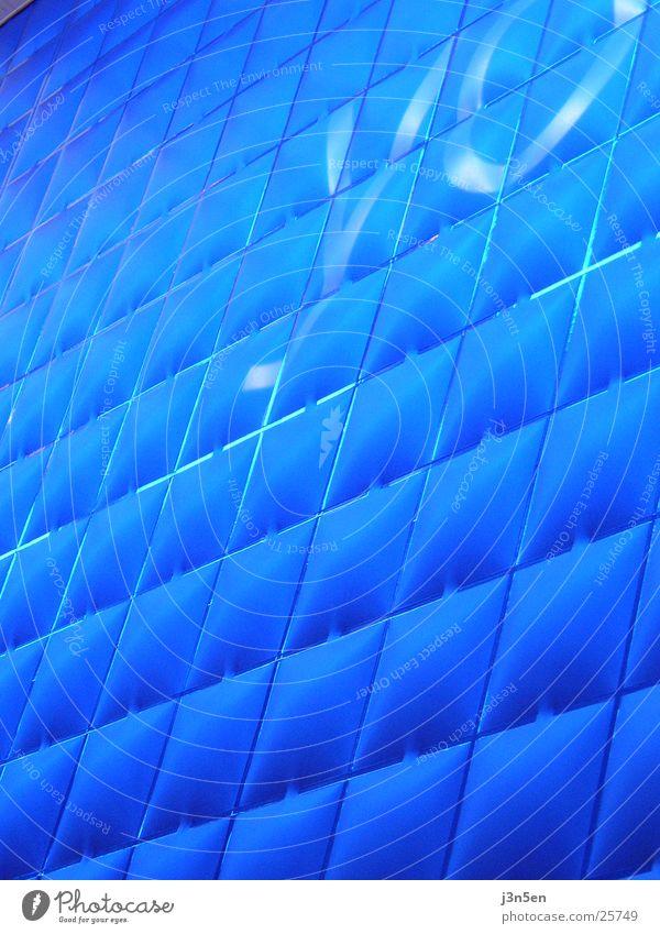 Blue Texture blau Wand Architektur CeBIT