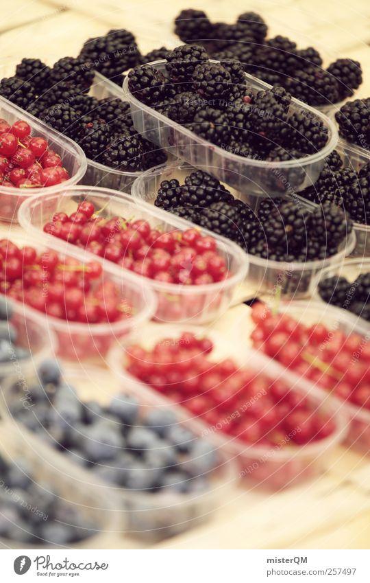 Qual der Wahl. Lebensmittel ästhetisch Beeren Auswahl Gesunde Ernährung Brombeeren Blaubeeren Johannisbeeren Schalen & Schüsseln Frucht Markt Markttag gepflückt