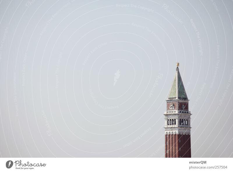 Türmchen. Stadt Kunst hoch ästhetisch Turm Spitze Bauwerk Wahrzeichen Sehenswürdigkeit Venedig Barock Turmspitze Veneto Urlaubsort Kulturdenkmal