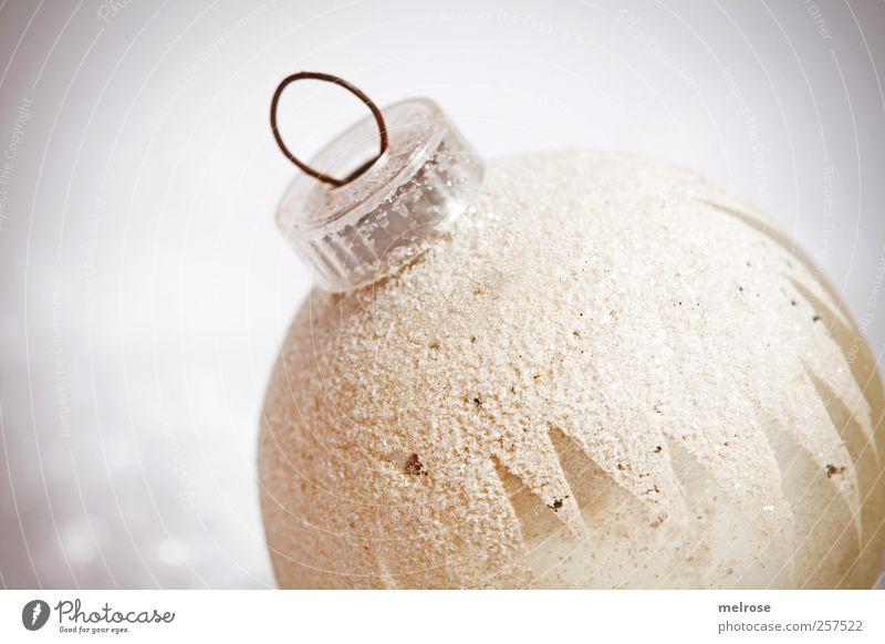 herausstechend Christbaumkugel Baumschmuck Glas Kugel Weihnachten & Advent Winter Gedeckte Farben Studioaufnahme Detailaufnahme Makroaufnahme Menschenleer