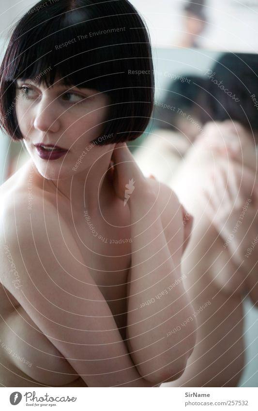 179 [this side still] Mensch Jugendliche schön Erwachsene feminin Erotik nackt Junge Frau Stil Kunst Tanzen 18-30 Jahre elegant authentisch ästhetisch Akt