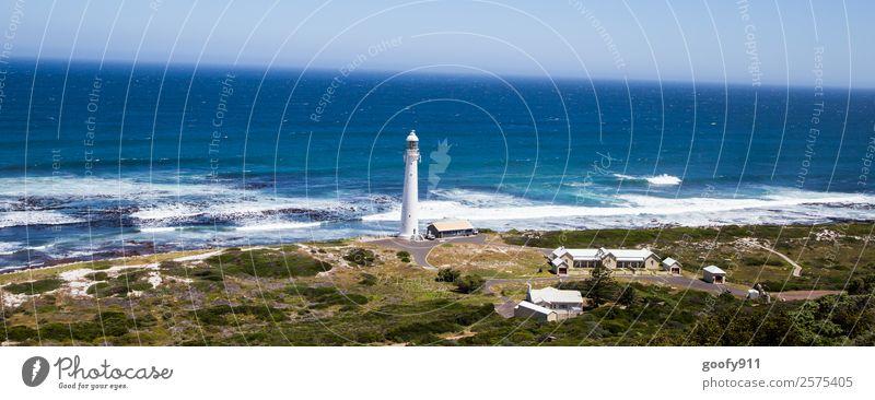 Richtung Kap Südafrika Himmel Natur Ferien & Urlaub & Reisen schön Wasser Landschaft Meer ruhig Strand Ferne Umwelt Küste Tourismus Freiheit Ausflug Horizont