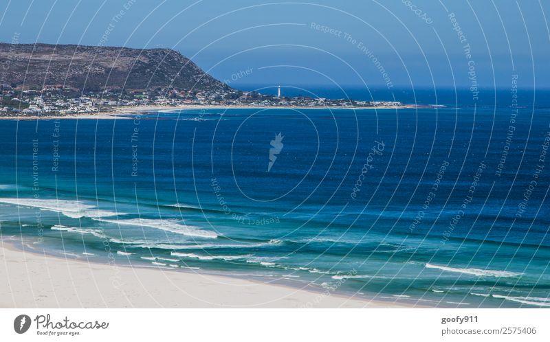 Küste Südafrikas Ferien & Urlaub & Reisen Tourismus Ausflug Abenteuer Ferne Freiheit Strand Meer Umwelt Natur Landschaft Sand Wasser Himmel Afrika Menschenleer