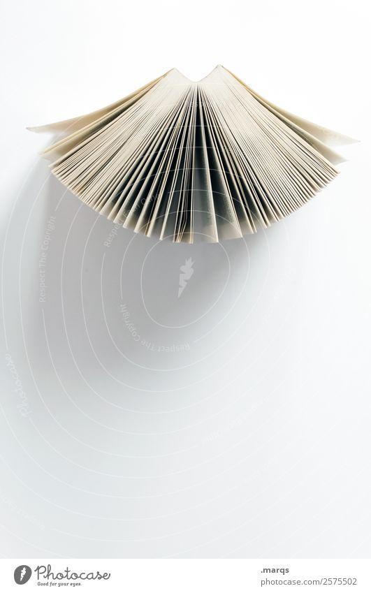 Aufgefächert Freizeit & Hobby Bildung Wissenschaften Erwachsenenbildung Schule Studium Buch Buchseite lernen lesen hell weiß Weisheit Perspektive