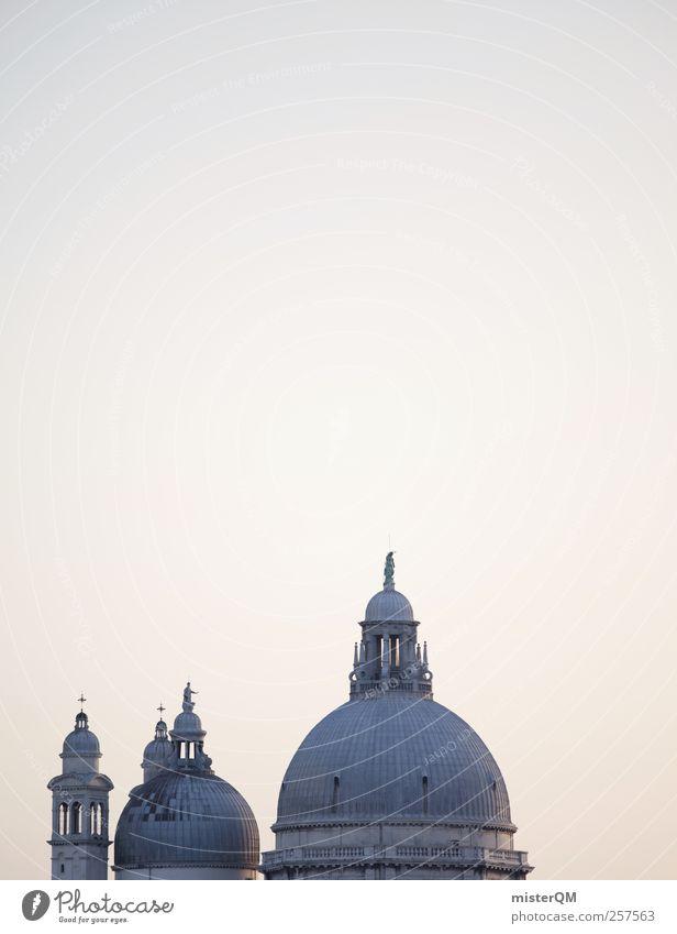 Famous Roofs. Kunst ästhetisch Venedig Veneto Dach Anschnitt Santa Maria della Salute Berühmte Bauten Kuppeldach dezent Altertum Reichtum Sehenswürdigkeit