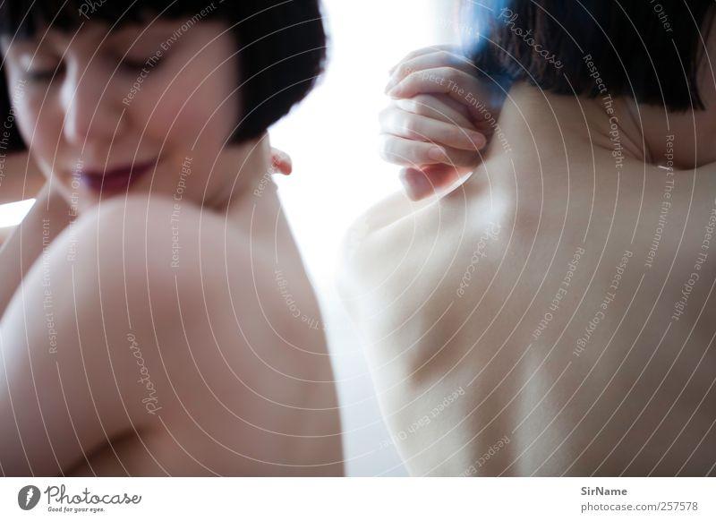 180 [soft glass] Mensch Jugendliche schön Erwachsene Liebe Leben Erotik nackt Stil Zufriedenheit elegant ästhetisch Lifestyle 18-30 Jahre Junge Frau Wunsch