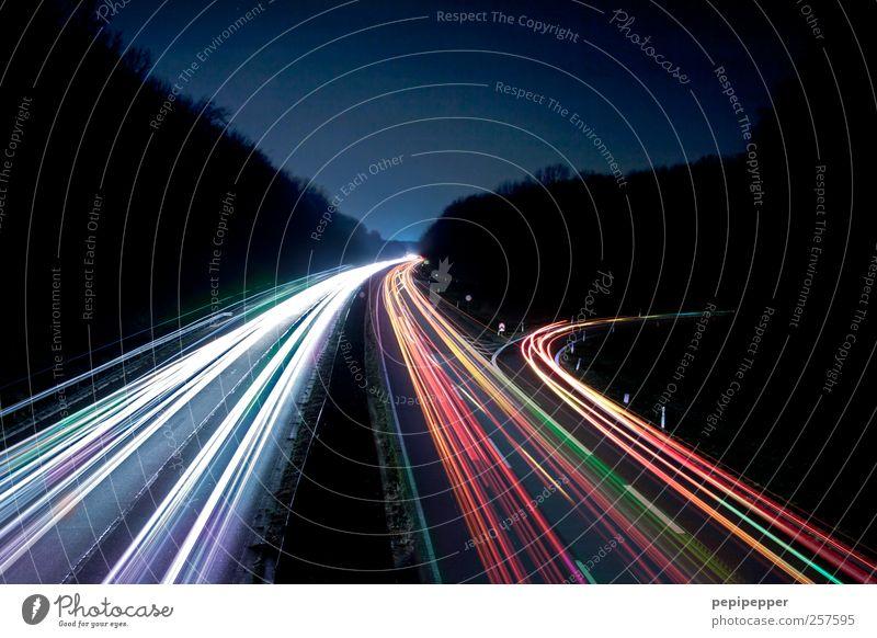 speedcars Landschaft Schönes Wetter Verkehr Verkehrsmittel Personenverkehr Öffentlicher Personennahverkehr Berufsverkehr Straßenverkehr Autofahren Autobahn