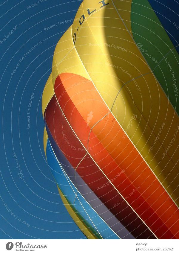 Ballon Himmel Farbe Luft fliegen fahren Freizeit & Hobby Ballone Schweben