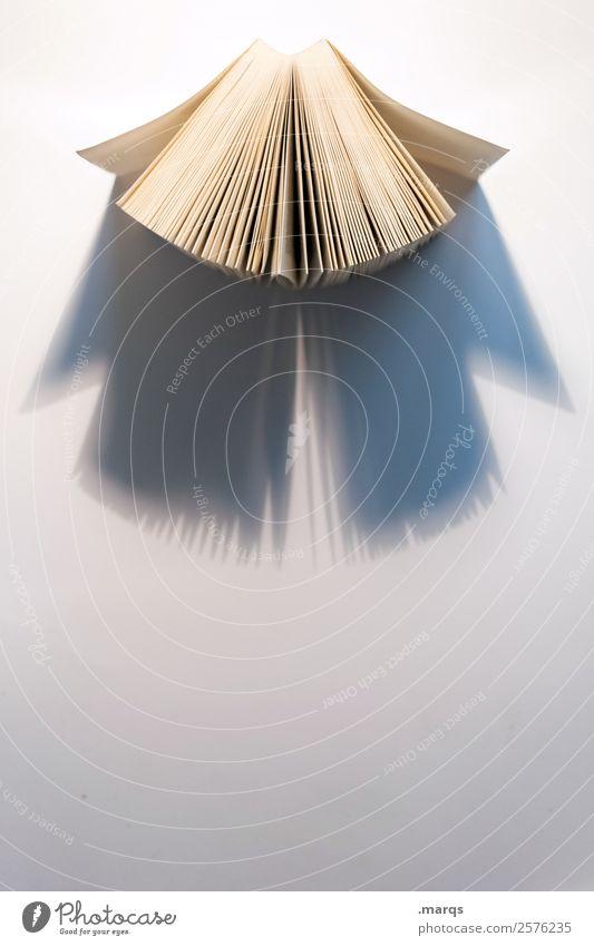 Offenes Buch Freizeit & Hobby Bildung Wissenschaften Erwachsenenbildung Schule Studium lernen lesen hell weiß Weisheit Perspektive lebenslanges lernen Farbfoto