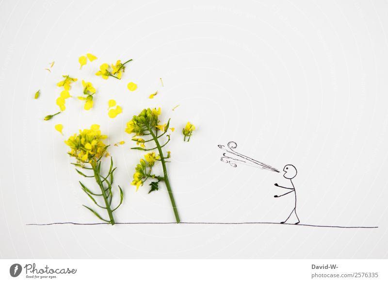 es windet Lifestyle elegant Stil Spielen Mensch maskulin Mann Erwachsene Jugendliche Leben 1 Kunst Umwelt Natur Landschaft Frühling Sommer Herbst Unwetter Wind