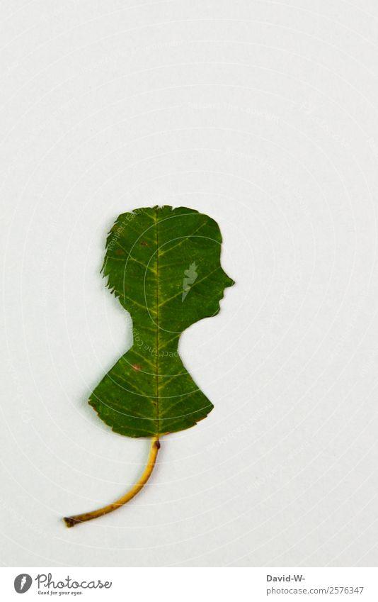 Nachhaltigkeit Mensch Natur Jugendliche Mann nackt grün Erwachsene Leben Umwelt Kunst Kopf Erde maskulin Wachstum Vergänglichkeit Wandel & Veränderung