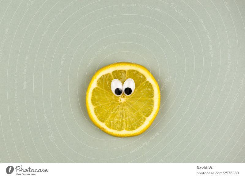 sauer macht lustig Lebensmittel Frucht Ernährung Bioprodukte Vegetarische Ernährung Diät Lifestyle Freude Mensch Auge Kunst Künstler beobachten Coolness Kitsch