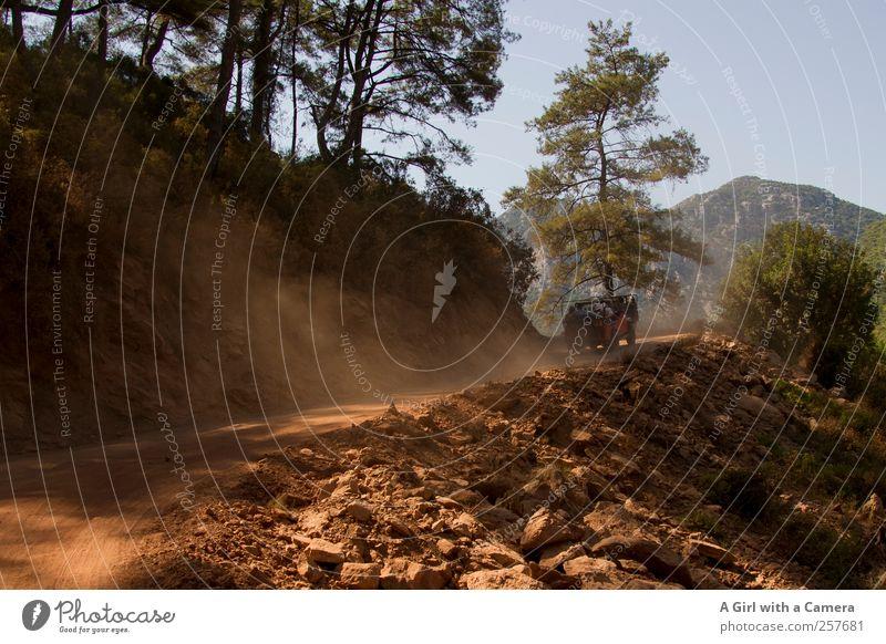 jeep safari Natur Sommer Landschaft Berge u. Gebirge Sand Wetter Abenteuer außergewöhnlich fahren heiß trocken Geländer Schönes Wetter Türkei steil