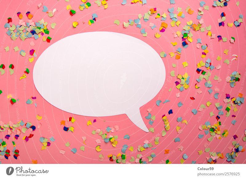 Sprechblase Leben Hintergrundbild Design Kreativität Lebensfreude Information Symbole & Metaphern Kontakt Wunsch Überraschung Teamwork Text Optimismus