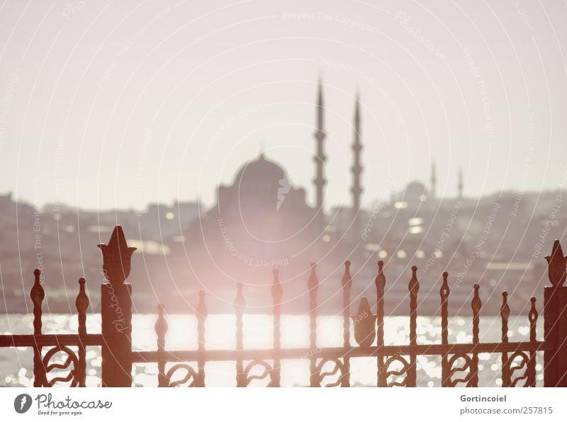 Karaköy Meer Wärme Skyline Sehenswürdigkeit Türkei Istanbul Moschee Bosporus Neue Moschee
