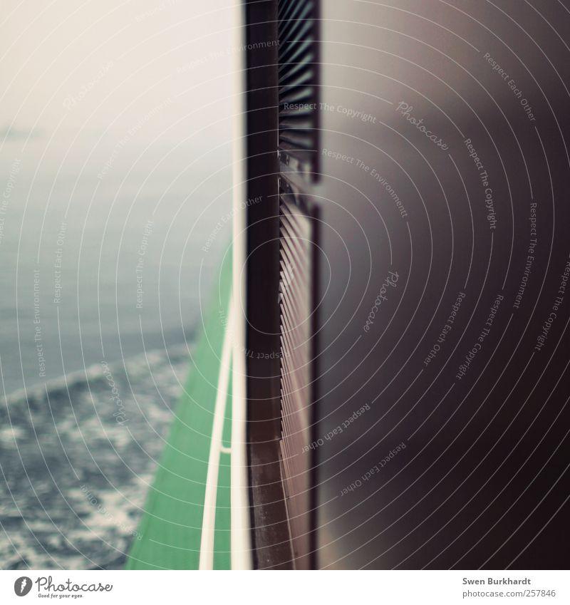 EISBERG VORAUS !!! grün Ferien & Urlaub & Reisen Meer Winter Erholung Herbst Holz Stimmung braun Wasserfahrzeug Wellen Zufriedenheit Nebel Ausflug Abenteuer