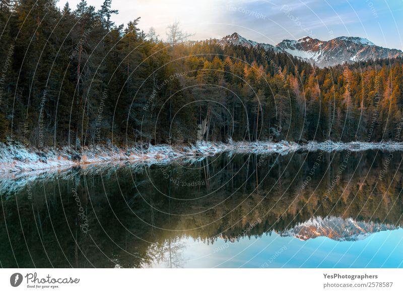 Natur Ferien & Urlaub & Reisen schön Landschaft Winter Berge u. Gebirge Schnee Deutschland Wetter Europa Schönes Wetter Gipfel Alpen Jahreszeiten Frost Bayern