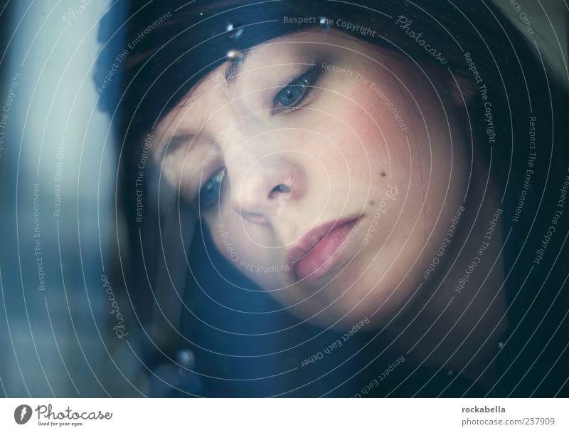 junimond. Mensch Jugendliche schön feminin Trauer einzigartig Leidenschaft Junge Frau Liebeskummer