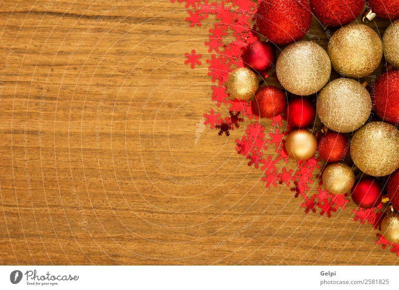 Weihnachtsdekoration Glück schön Ferien & Urlaub & Reisen Winter Dekoration & Verzierung Feste & Feiern Weihnachten & Advent Holz Ornament hell klein neu gold