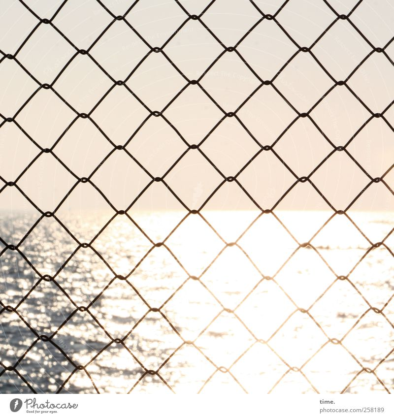 Die Gedanken sind frei Himmel Wasser Meer Einsamkeit Ferne Umwelt Freiheit Traurigkeit Stimmung hell Wellen Horizont glänzend Perspektive Sicherheit Unendlichkeit