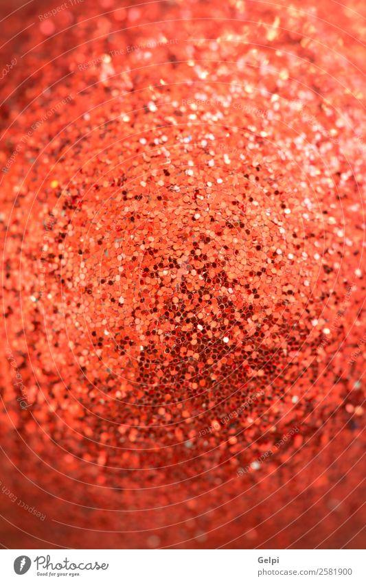 Zuckerstangen mit Weihnachtskugeln Dekoration & Verzierung Feste & Feiern Weihnachten & Advent Kunststoff Ornament glänzend hell rot Farbe Tradition