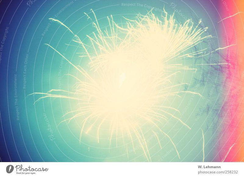 Brizzel...Bruzzel..... Feste & Feiern Silvester u. Neujahr Feuerwerk Nachthimmel Rauch Gefühle Vorfreude Farbfoto mehrfarbig Außenaufnahme Experiment