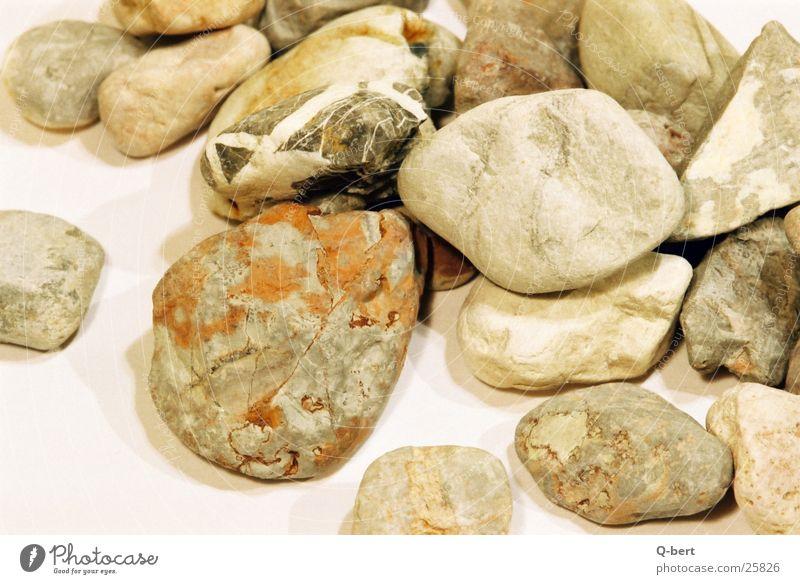 die steine Kieselsteine Oberfläche Natur Detailaufnahme Stein Ziersteine Farbe Strukturen & Formen