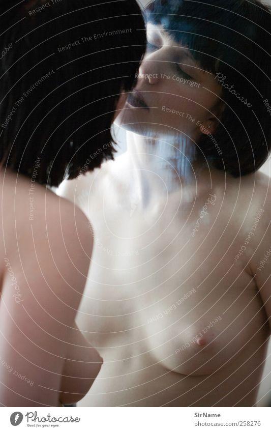 190 [so nah und doch] Mensch Jugendliche Stadt schön Erwachsene Liebe feminin Erotik nackt träumen Akt ästhetisch 18-30 Jahre Junge Frau Model berühren