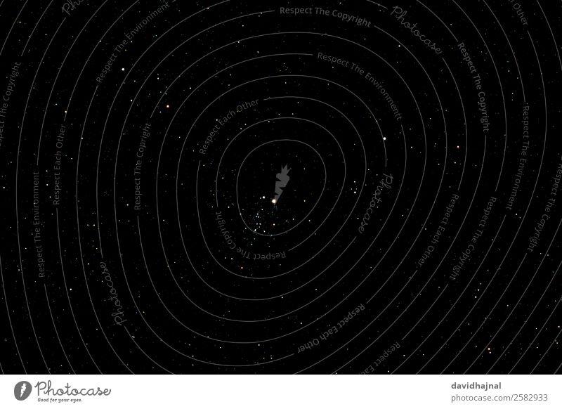 Eulenhaufen Wissenschaften Fortschritt Zukunft Astronomie Teleskop Umwelt Natur Landschaft Himmel nur Himmel Wolkenloser Himmel Nachthimmel Stern Herbst NGC 457