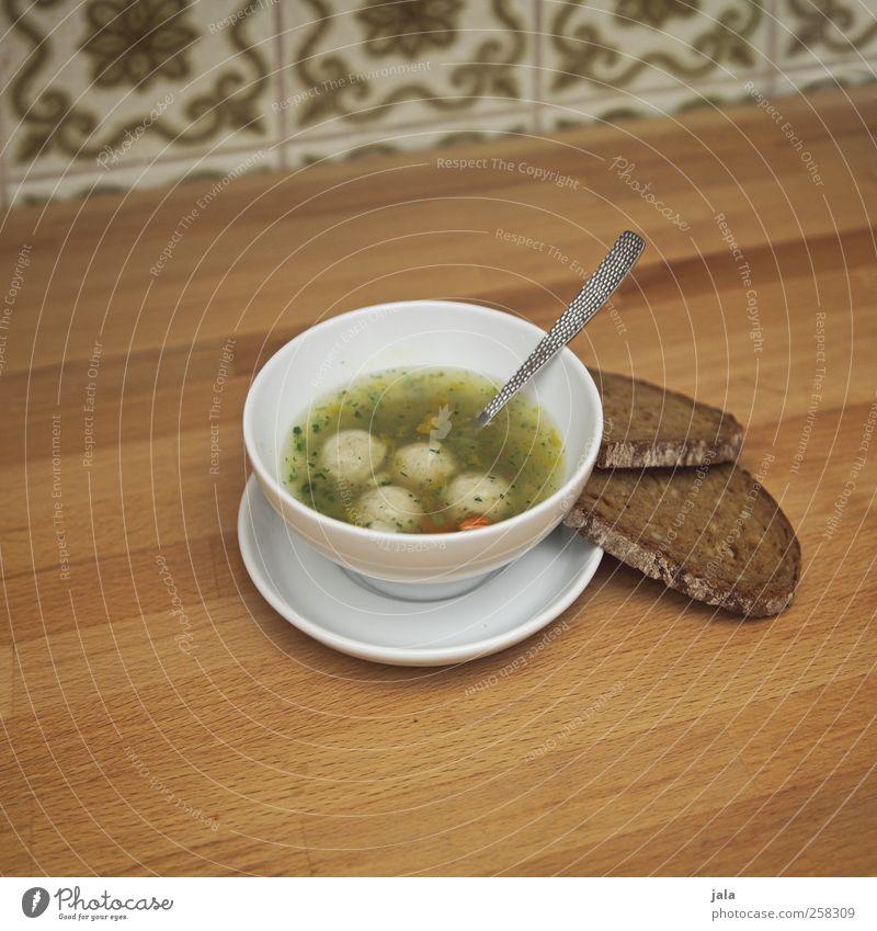 süpple Lebensmittel Geschirr Appetit & Hunger Teller lecker Brot Mittagessen Schalen & Schüsseln Suppe Löffel Eintopf