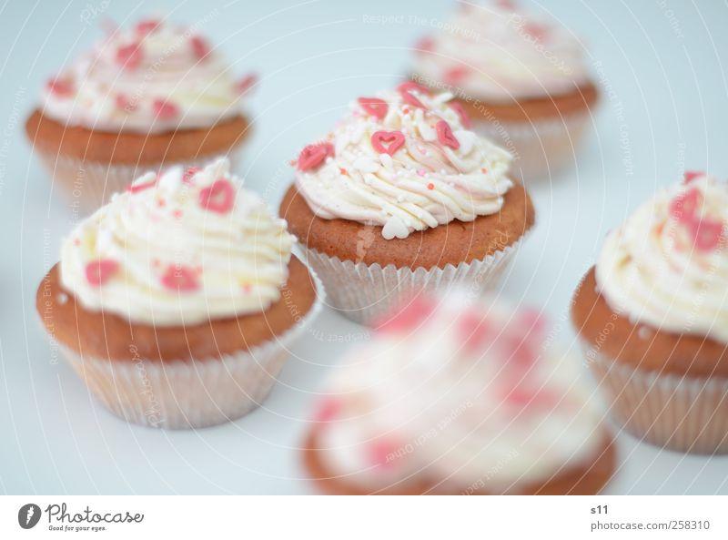 sweet dreams weiß schön rot Freude Lebensmittel Feste & Feiern rosa Herz Geburtstag Dekoration & Verzierung süß Kochen & Garen & Backen genießen Kuchen Süßwaren lecker