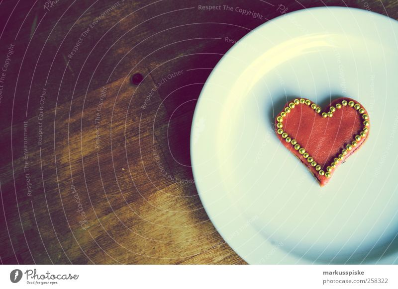 herzchen Teigwaren Backwaren Süßwaren cookie Muffin Plätzchen Ernährung Bioprodukte Lifestyle elegant Stil Design Wohnung Tisch Feste & Feiern Flirten