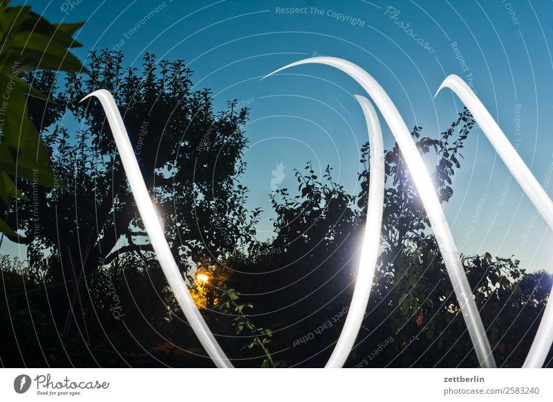 Bailong Bewegung blinkern mehrfarbig Großstadt Dynamik Phantasie Fantasygeschichte glänzend Garten Kunst Licht Lichtspiel Leuchtspur Lichtmalerei Lightshow