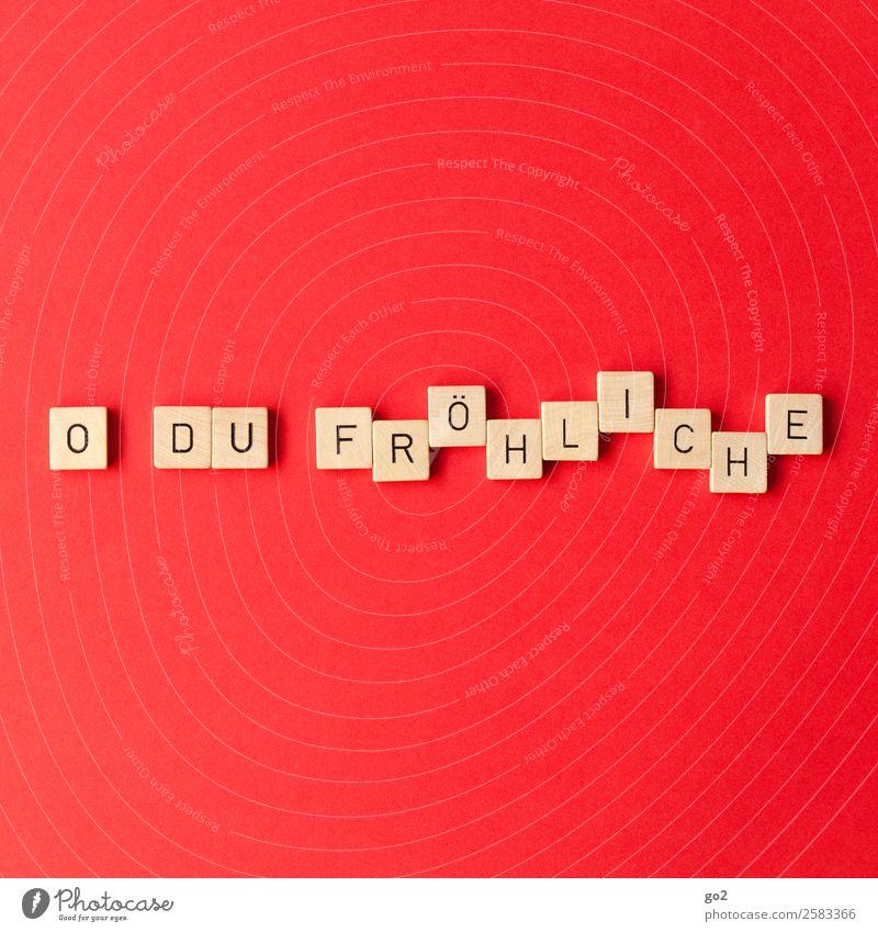 Weihnachtsstimmung Freizeit & Hobby Spielen Brettspiel Weihnachten & Advent Musik Schriftzeichen Fröhlichkeit rot Gefühle Lebensfreude Vorfreude Zusammensein